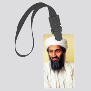 OSAMA_BIN_LADEN Large Luggage Tag